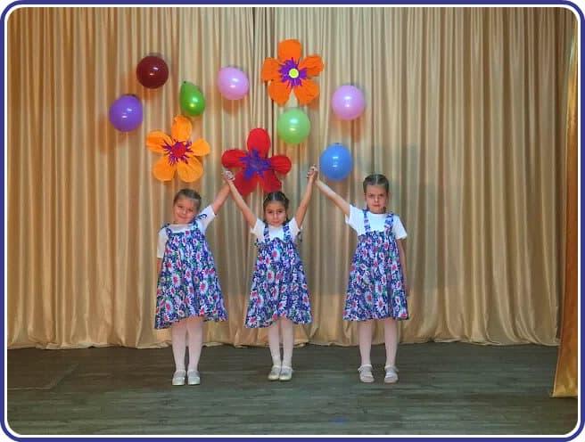 девочки танцоры